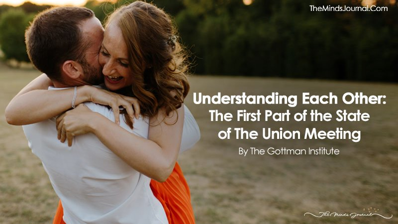 Understanding Each Other: The First Part of the State of The Union Meeting
