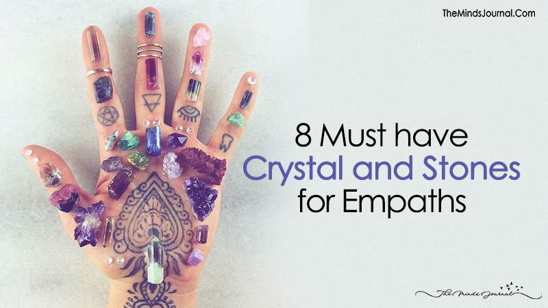 8 Must Have Crystal and Stones for Empaths