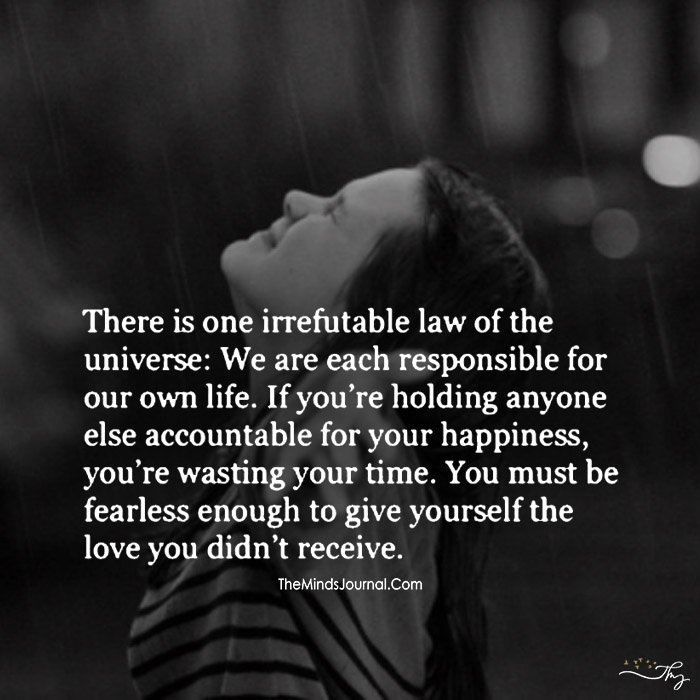 Irrefutable Law Of The Universe