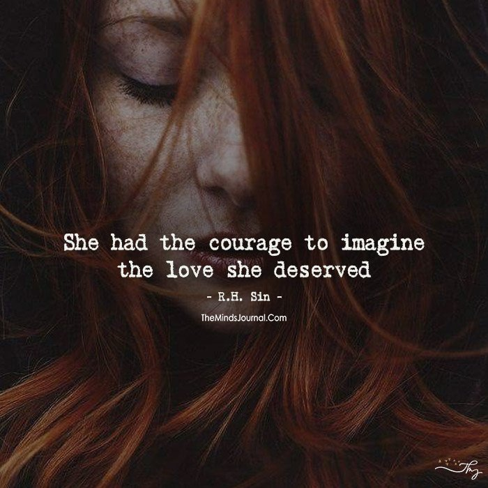 Her Courage!