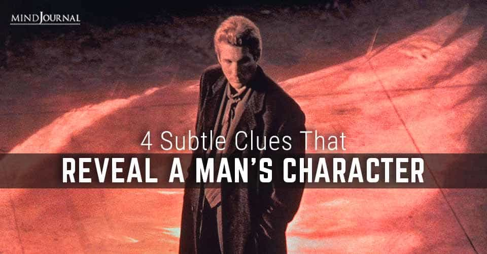 Clues Reveal Man Character