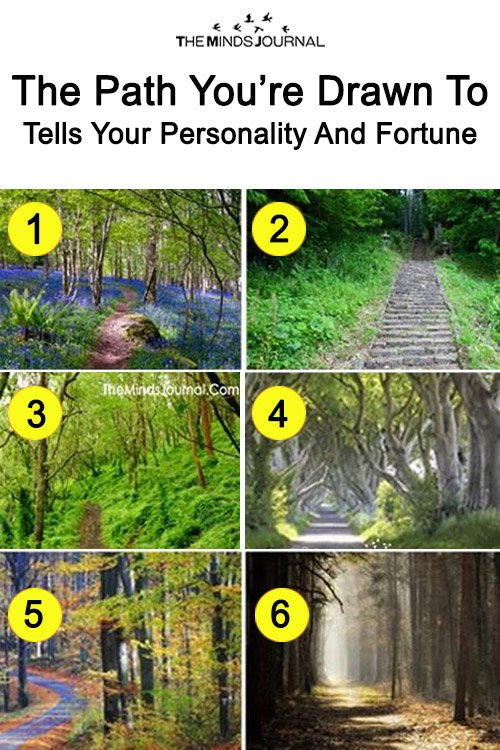 Fun Test: The Path You're Drawn To Tells Your Personality And Fortune