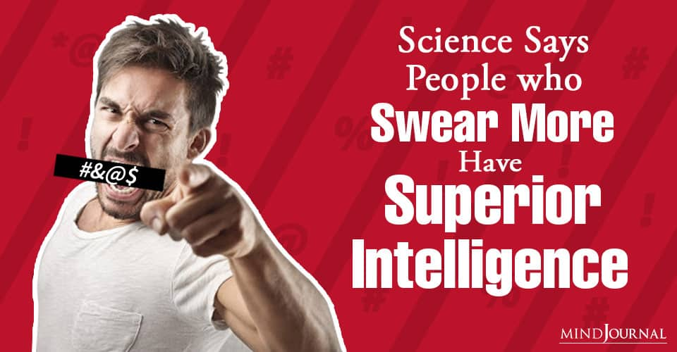 Science Says People Swear More Have Superior Intelligence