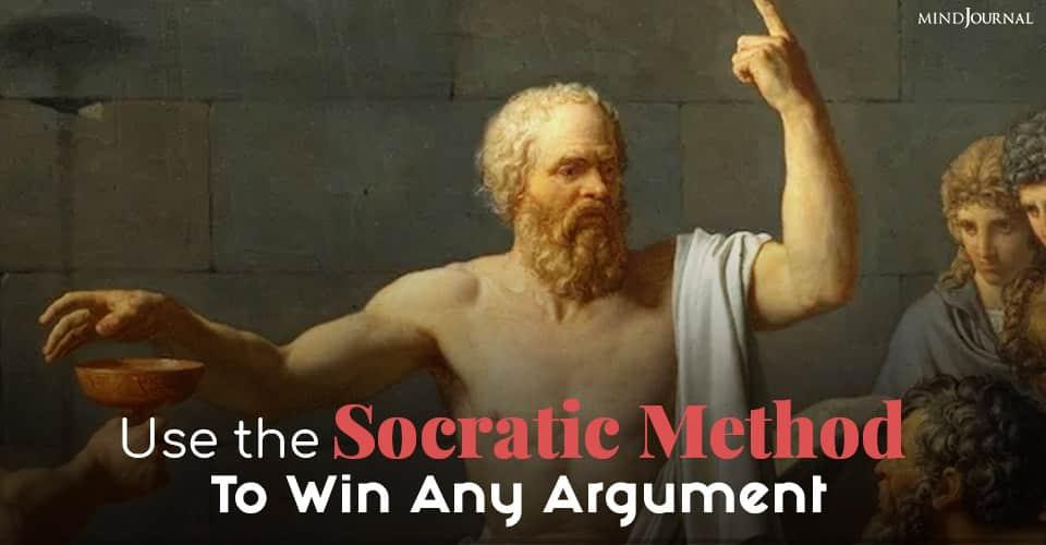 Socratic Method Win Argument
