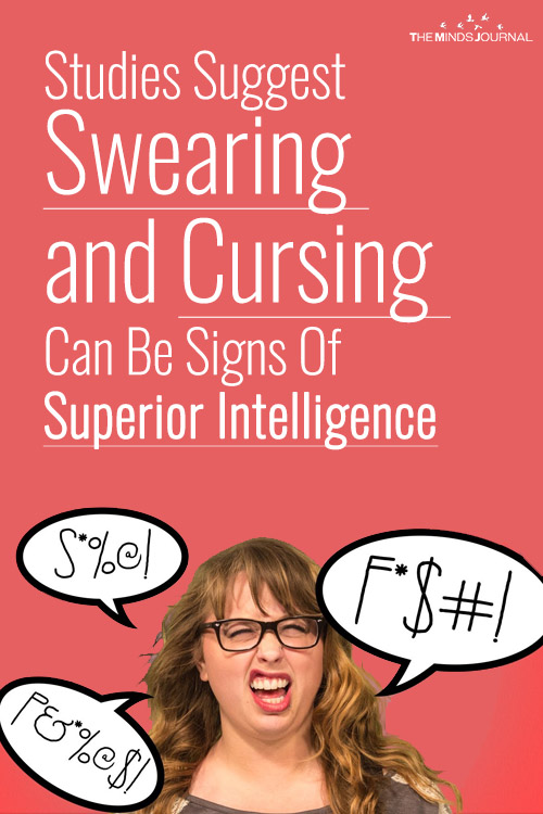 Studies Suggest Swearing and Cursing Can Be Signs Of Superior Intelligence