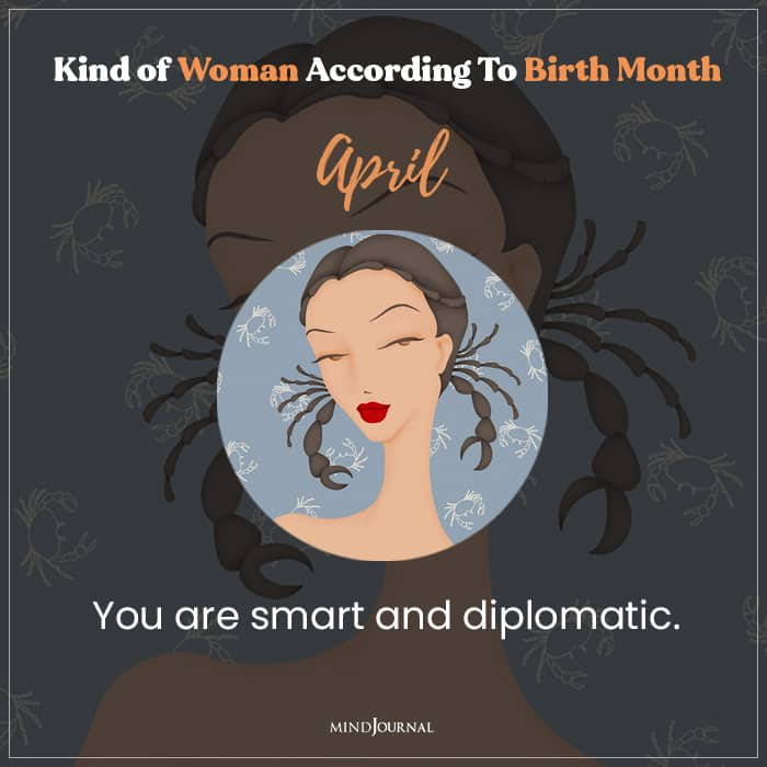 The Kind Of Woman You Are APril