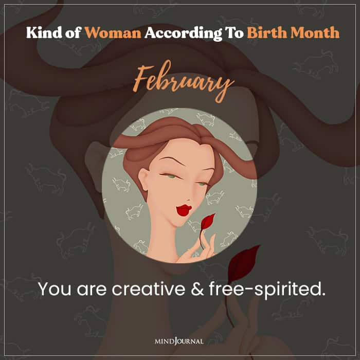 The Kind Of Woman You Are feb