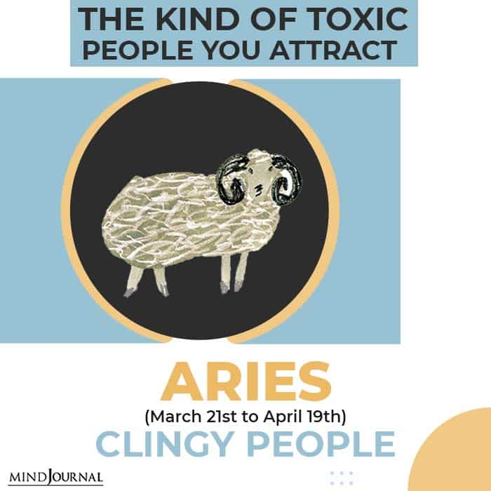 Toxic People Attract Aries