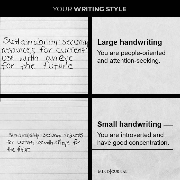 Your writing style