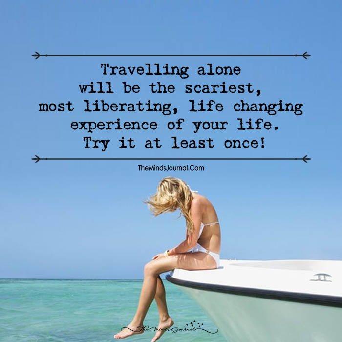 Go, Travel Alone