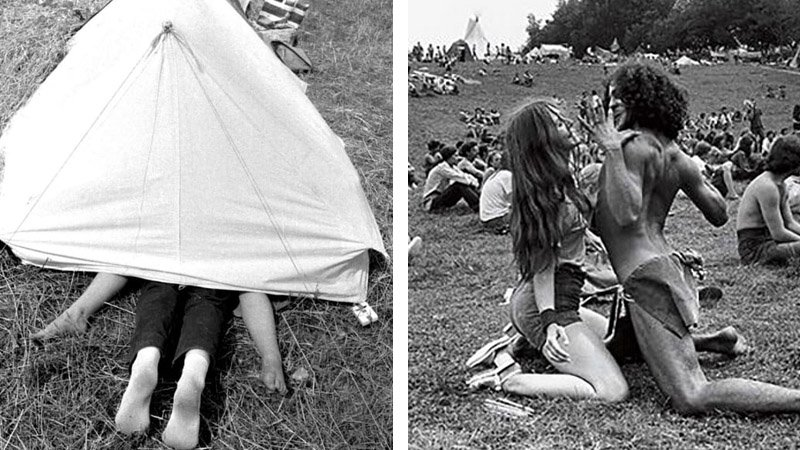Stunning Pictures that Show Just How Far Out the Hippies Really Were