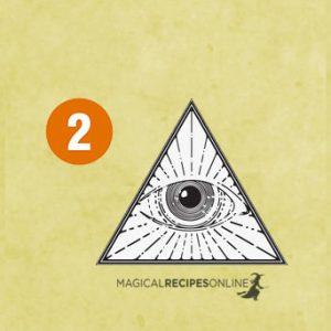 Choose an eye - Book of Secrets