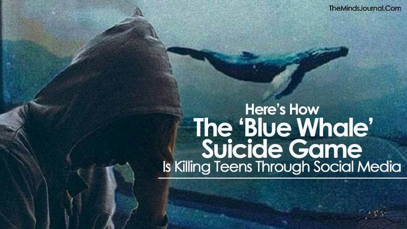 Here's How The 'Blue Whale' Suicide Game Is Killing Teens Through Social Media
