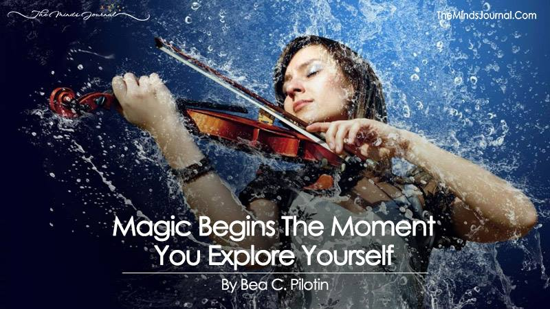Magic Begins The Moment You Explore Yourself