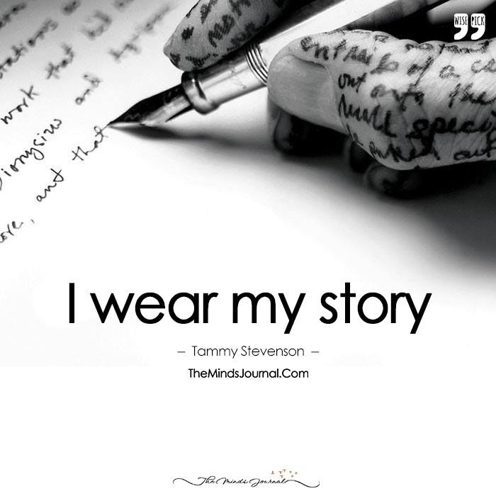 I Wear My Story
