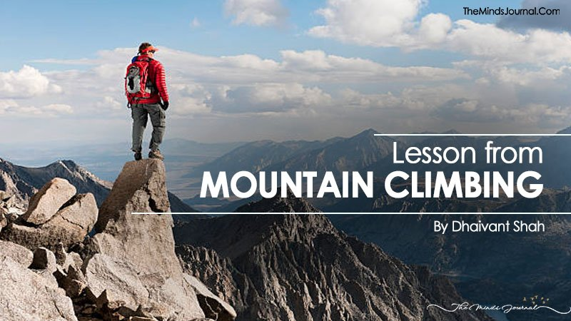 Lesson From Mountain Climbing
