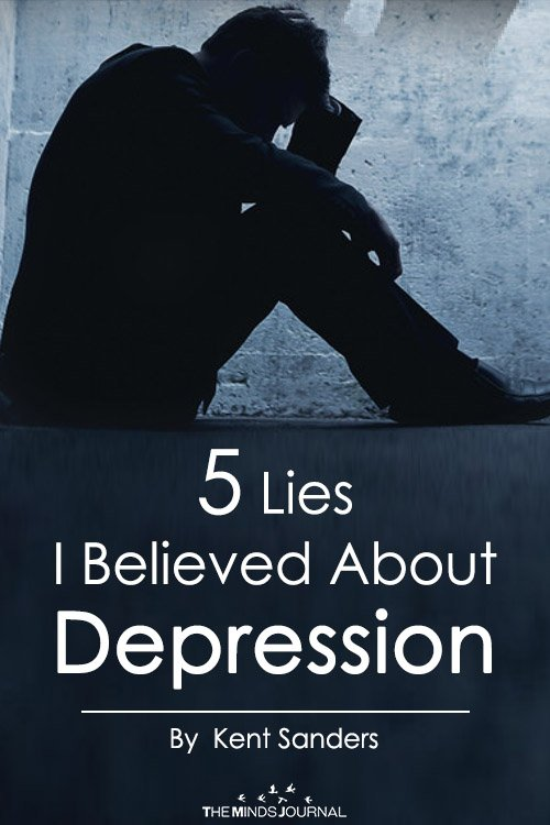 5 Lies I Believed About Depression