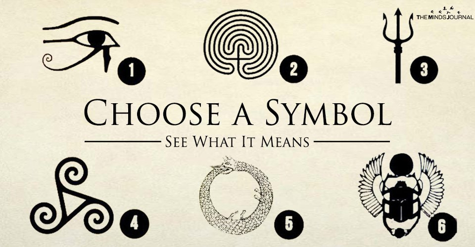 Choose A Symbol See What It Means The Minds Journal