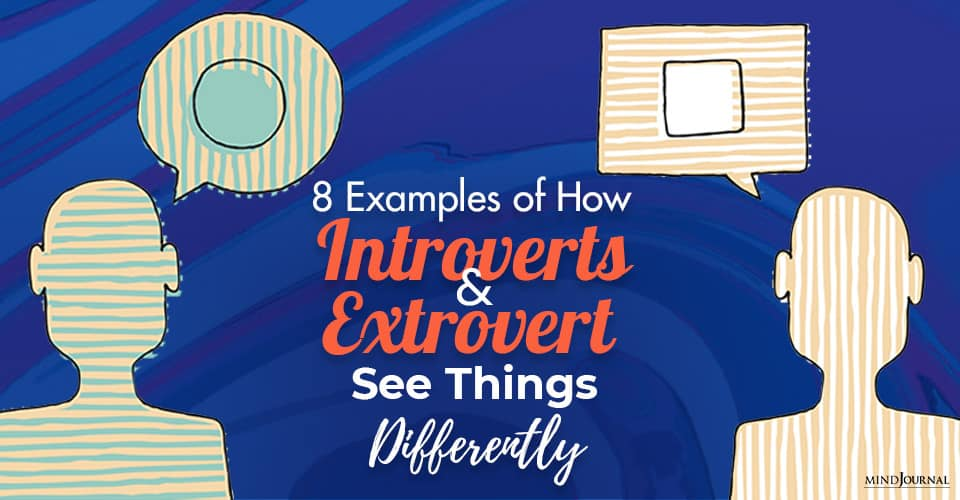 Introverts Extrovert Things Differently