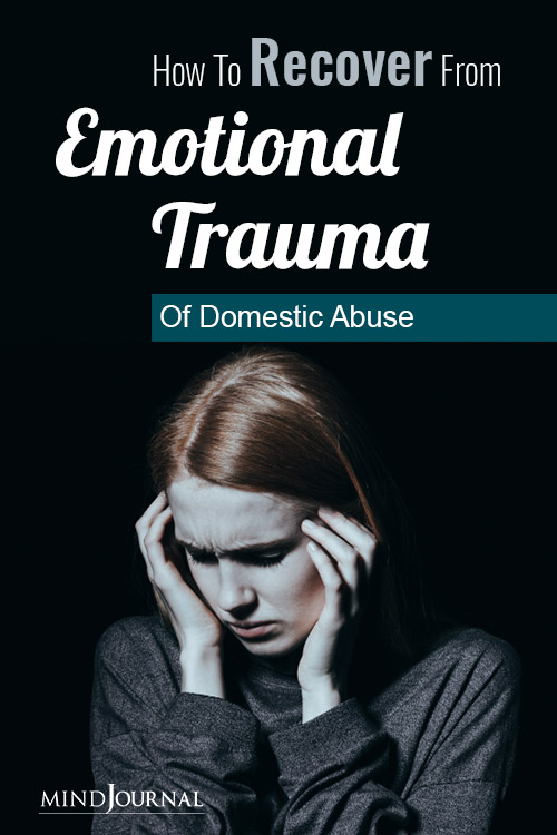 Recover Emotional Trauma of Domestic Abuse pin
