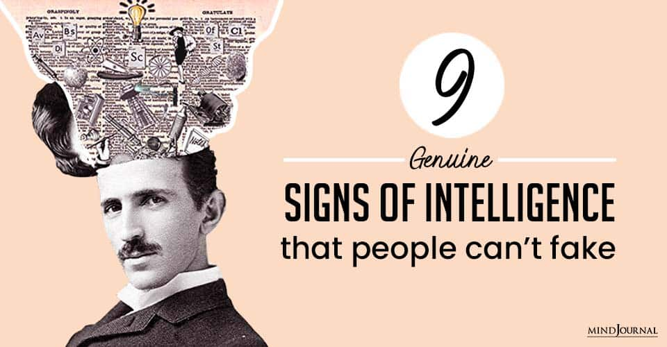 Signs Intelligence People Cant Fake