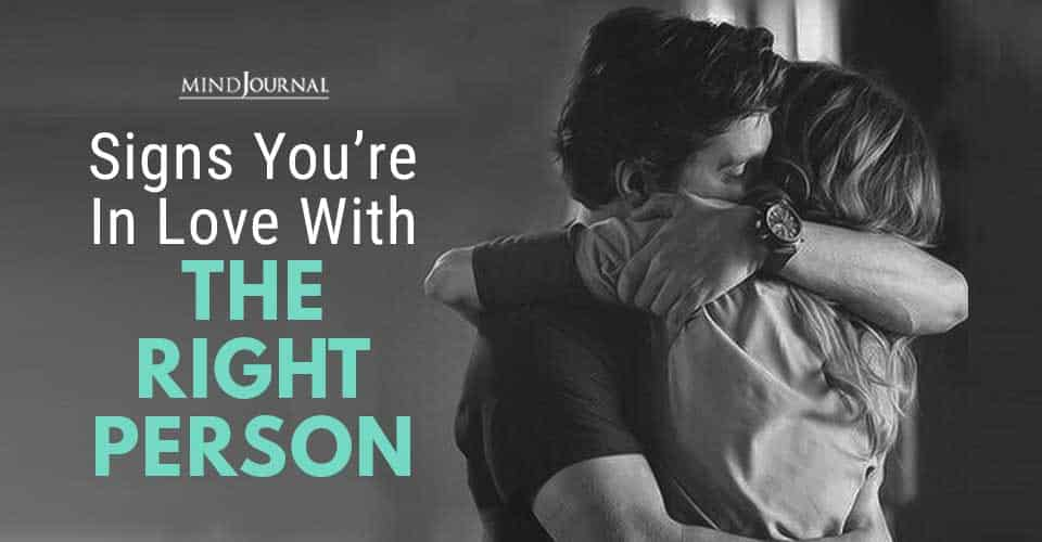 Signs in Love with Right Person