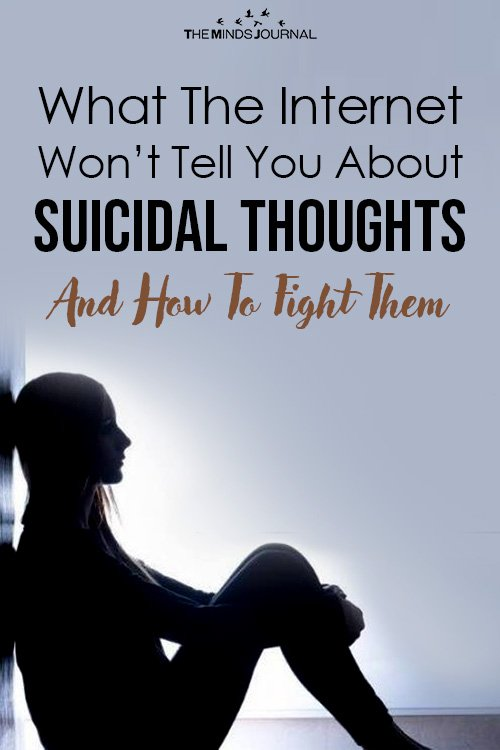What The Internet Won't Tell You About Suicidal Thoughts