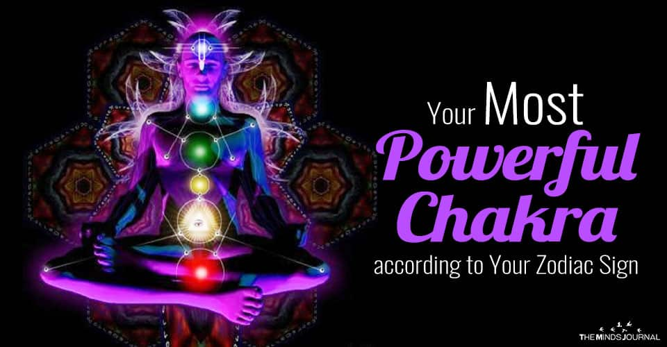 Your Most Powerful Chakra according to Your Zodiac Sign
