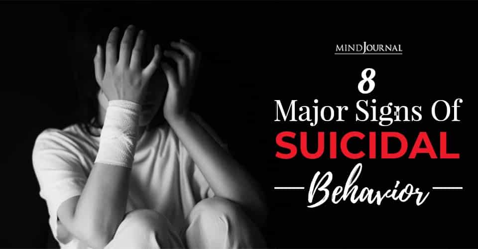 risk factors for suicide major signs of suicidal behavior