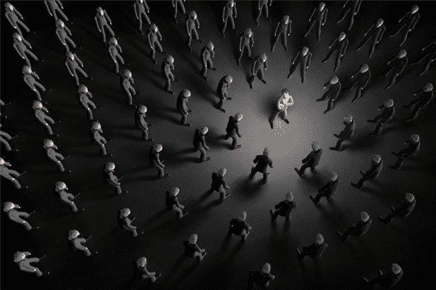 Hidden Desire of stand alone in the crowd Aquarius