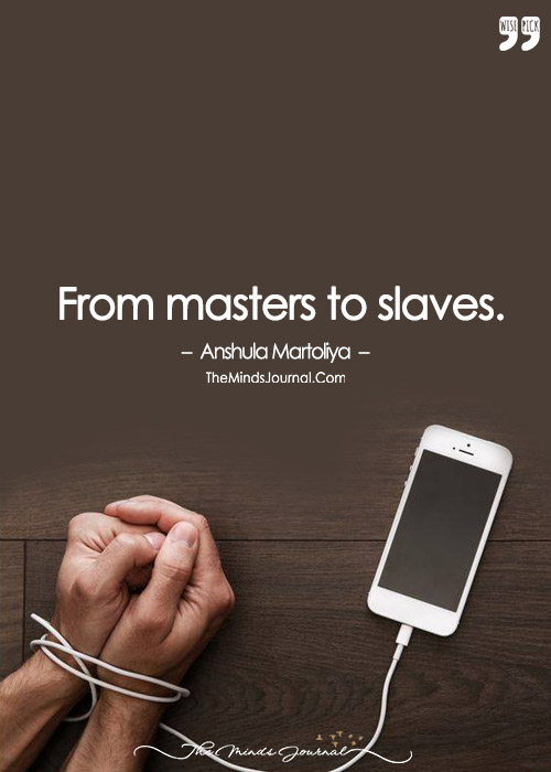 From Masters To Slaves.