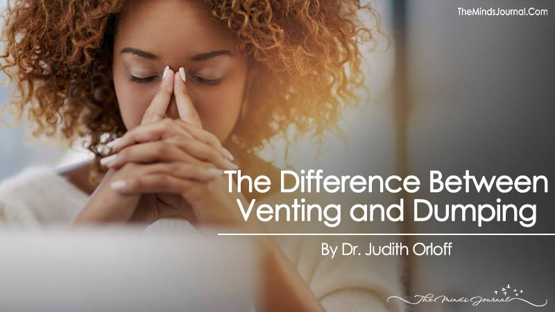 The Difference Between Venting and Dumping