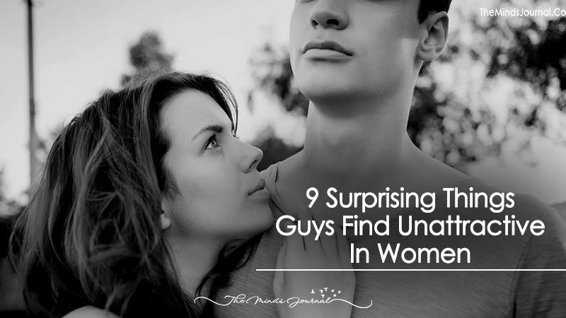 9 Surprising Things Guys Find Unattractive In Women