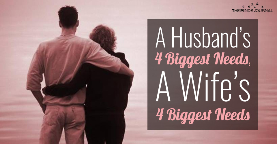 4 Needs of Husbands and 4 Needs of Wives