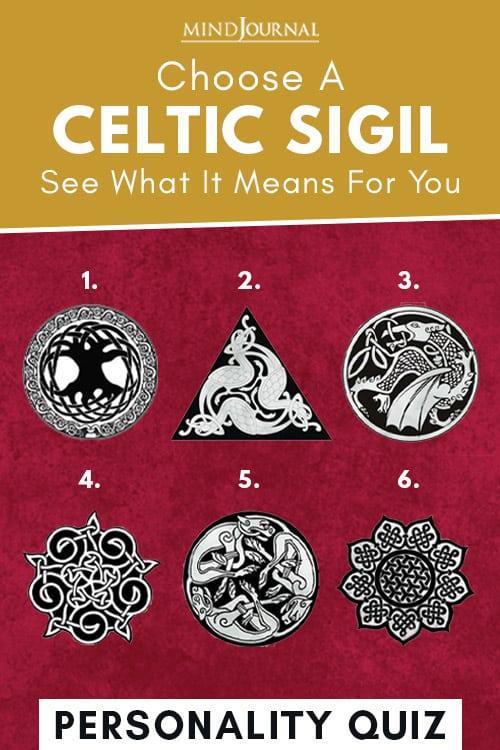 Choose A Celtic Sigil Pin