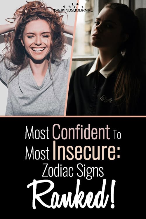 Most Confident To Most Insecure: Zodiac Signs Ranked!