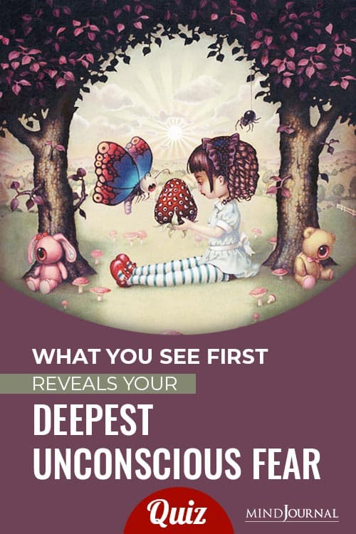 See First Reveals Deepest Unconscious Fear pin