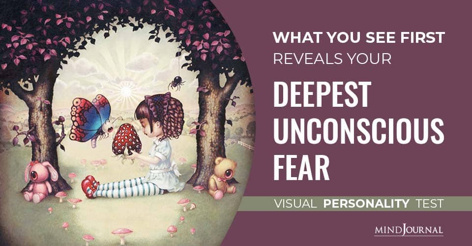See First Reveals Deepest Unconscious Fear