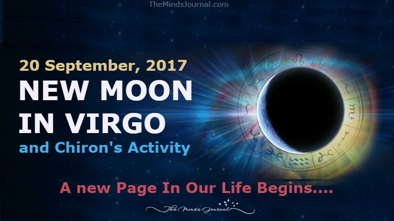 20 September: New Moon in Virgo and Chiron's Activity