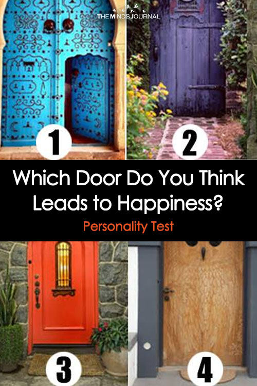 Which Door Do You Think Leads to Happiness?