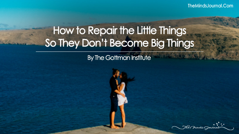 How to Repair the Little Things So They Don't Become Big Things