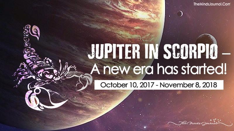 Jupiter In Scorpio – A New Era Has Started!