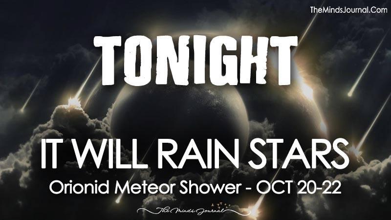 Tonight It Will Rain Stars- Orionid Meteor Shower