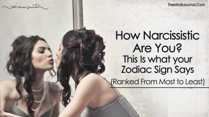 How Narcissistic Are You? This Is What Your Zodiac Sign Says