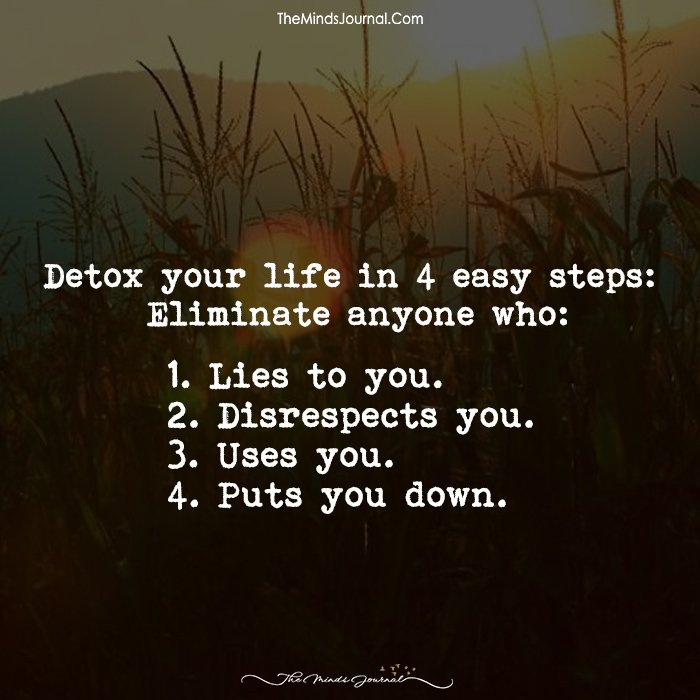 Detox Your Life In 4 Easy Steps