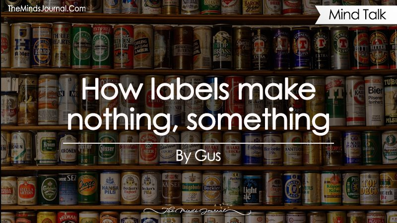 How labels make nothing, something