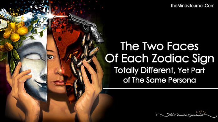 The Two Faces Of Each Zodiac Sign: Totally Different, Yet Part of The Same Persona