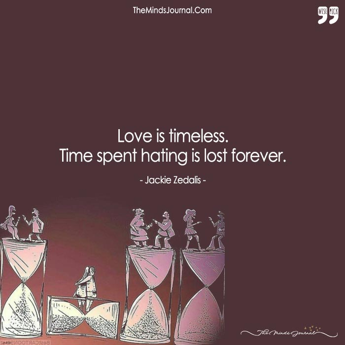 While The Others Are Fighting The Time Away, We Are Making It Stand Still With Our Love.