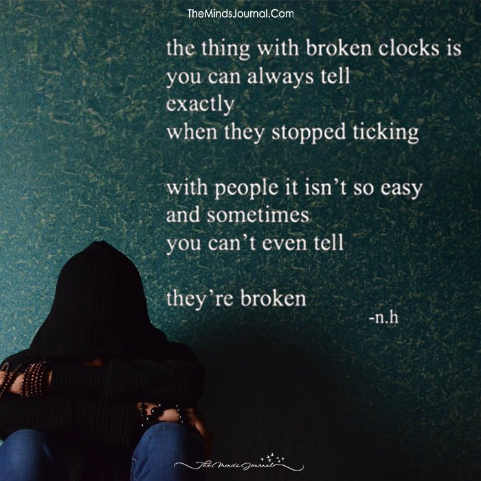 The Thing With Broken Clock Is