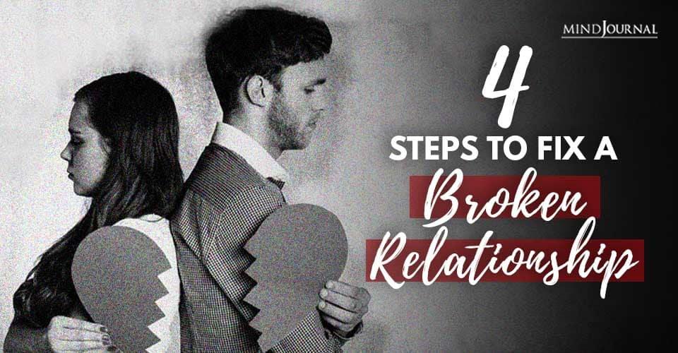 Steps Fix Broken Relationship